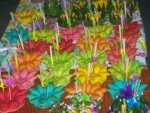 Tradycja coś Loy Krathong Zdjęcie Stock