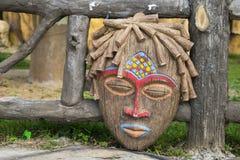 Tradycyjna Afrykańska rytuał maska Zdjęcie Stock