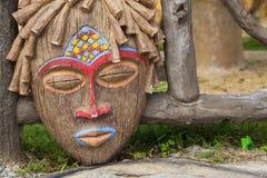 Tradycyjna Afrykańska rytuał maska Obraz Royalty Free