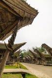 Tradycyjna architektura w Taniec Toraja Fotografia Stock