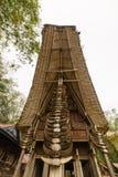 Tradycyjna architektura w Taniec Toraja Obrazy Stock