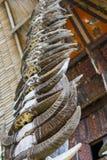 Tradycyjna architektura w Taniec Toraja Zdjęcia Royalty Free