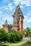 Tradycyjna balijczyka Induzm świątynia Bali Obrazy Stock