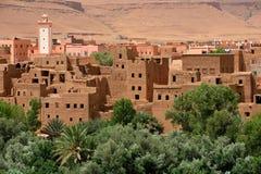 Tradycyjna berber wioska Zdjęcie Royalty Free