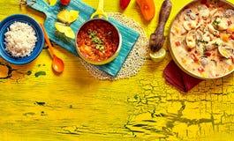 Tradycyjna Brazylijska milczek skorupy potrawka zdjęcie royalty free
