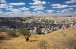 Tradycyjna Cappadocian wioska Göreme Obraz Royalty Free