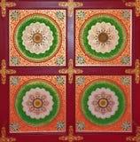 tradycyjna chińska brama Obrazy Royalty Free