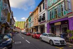 Tradycyjna Chinatown ulica Obraz Stock