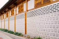 Tradycyjna ściana Zdjęcia Stock