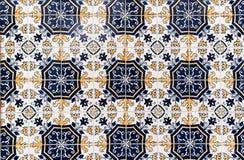 Tradycyjna dachówkowa mozaika textured tło Zdjęcia Stock
