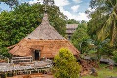 Tradycyjna domowa Sarawak kulturalna wioska, Malezja Obrazy Stock