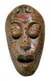 Tradycyjna drewniana maska Fotografia Stock