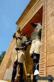Tradycyjna egipska rzeźba w parku Obrazy Royalty Free