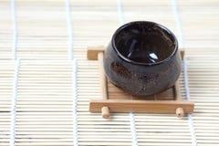 Tradycyjna herbaciana filiżanka Zdjęcie Royalty Free