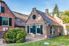 Tradycyjna Holenderska dom wiejski scena zdjęcie royalty free