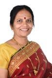 tradycyjna indyjska kobieta fotografia stock