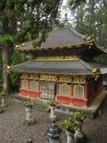 Tradycyjna Japońska świątynia i świątynia zdjęcie royalty free