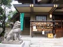 Tradycyjna Japońska Sintoizm świątynia w Tokio fotografia royalty free