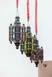 Tradycyjna kolor lampa Obraz Stock