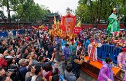 Tradycyjna kultury parada Zdjęcia Royalty Free