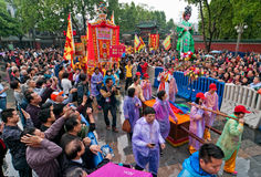 Tradycyjna kultury parada Zdjęcie Stock