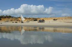 Tradycyjna mała łódź rybacka Obraz Royalty Free