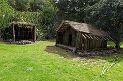 Tradycyjna Maoryjska wioska Obrazy Royalty Free