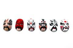 tradycyjna maskowa Chińczyk opera obraz royalty free