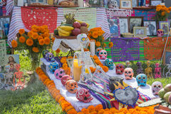 Tradycyjna Meksykańska ołtarzowa instalacja Zdjęcie Stock
