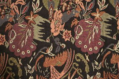 Tradycyjna motyw tkanina Zdjęcie Royalty Free