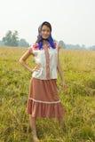 tradycyjna odzieżowa dziewczyna Zdjęcie Stock