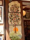 Tradycyjna ręka malująca Bugarian ceramika obraz royalty free