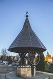 Tradycyjna romanian fontanna zdjęcia stock
