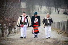 Tradycyjna romanian odzież Zdjęcia Royalty Free