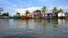 Tradycyjna rybak wioska Fotografia Royalty Free