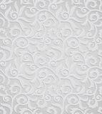 Tradycyjna srebna tapeta Obraz Royalty Free