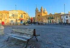 Tradycyjna stara wioska rybacka Marsaxlokk w Malta Obraz Royalty Free