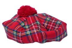 Tradycyjna Szkocka czapeczka zdjęcia royalty free