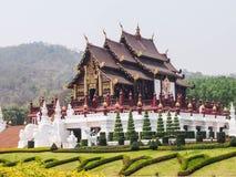Tradycyjna tajlandzka architektura, Królewski Pavilio Obraz Stock