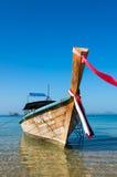 Tradycyjna tajlandzka długiego ogonu łódź Obrazy Stock