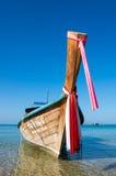 Tradycyjna tajlandzka długiego ogonu łódź Zdjęcie Stock