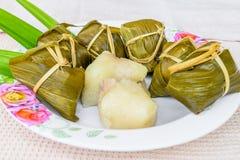 Tradycyjna Tajlandzka foodKhao Tom mata Zdjęcie Stock
