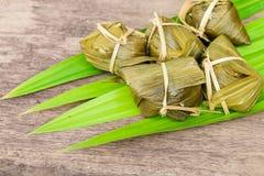Tradycyjna Tajlandzka foodKhao Tom mata Zdjęcia Royalty Free