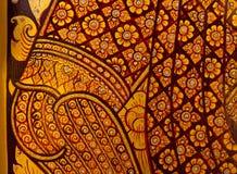 Tradycyjna Tajlandzka stylowa obraz sztuka Obrazy Stock