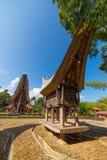 Tradycyjna Toraja wioska Obrazy Stock