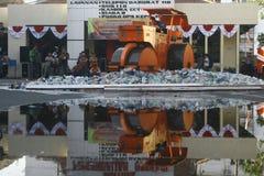 Tradycyjna trunek eksterminacja w Indonezja zdjęcie stock
