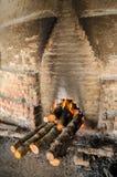 Tradycyjna węgiel drzewny fabryka, Sepetang, Malezja Zdjęcie Stock