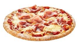 Tradycyjna Włoska pizza z prosciutto baleronem Obraz Royalty Free