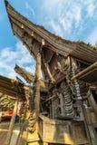 Tradycyjna wioska Taniec Toraja, Indonezja Zdjęcia Stock