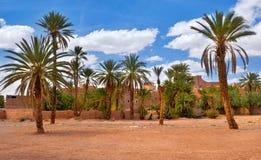 Tradycyjna wioska w Maroko fotografia royalty free